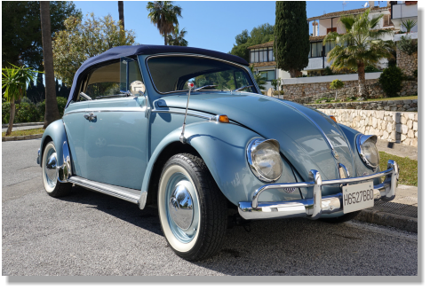 Classic cars to hire in Benalmadena