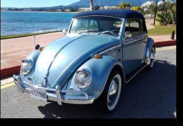 VW Beetle avaliable for hirings in Estepona
