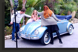 Marbella classic car rental for photoshooting